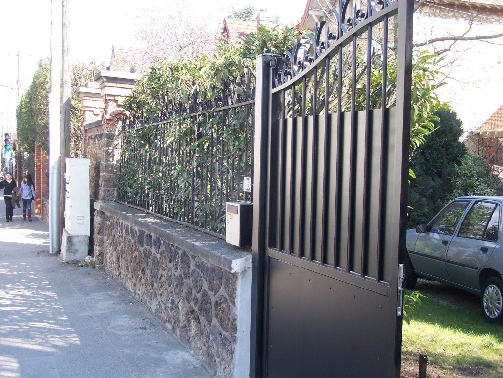 Cloture du vexin fabricant de portails sur mesure dans le 95 for Fabricant de portail sur mesure